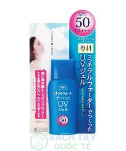 Kem chống nắng Shiseido Mineral Water Senka SPF50 PA+++ 40ml
