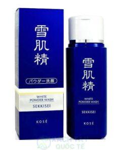 Bột rửa mặt Kosé Sekkisei White Powder Wash