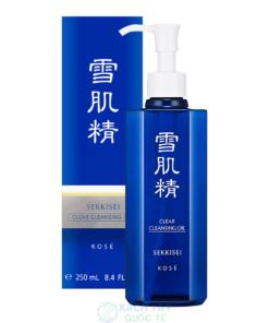 Dầu tẩy trang SEKKISEI Clear Cleansing Oil 250ml