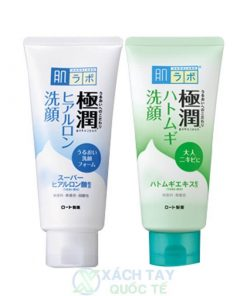 Sữa rửa mặt dưỡng ẩm Hada LaBo GoKuJyun Face Wash 100G