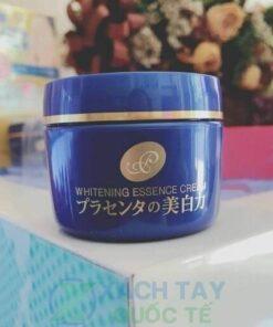 Kem dưỡng trắng da nhau thai Meishoku Whitening Essence Placenta Cream 55g