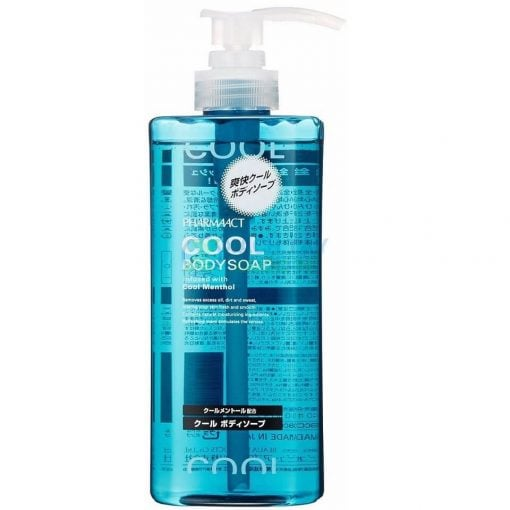 Sữa tắm nam Pharmaact Cool Body Soap 600ml