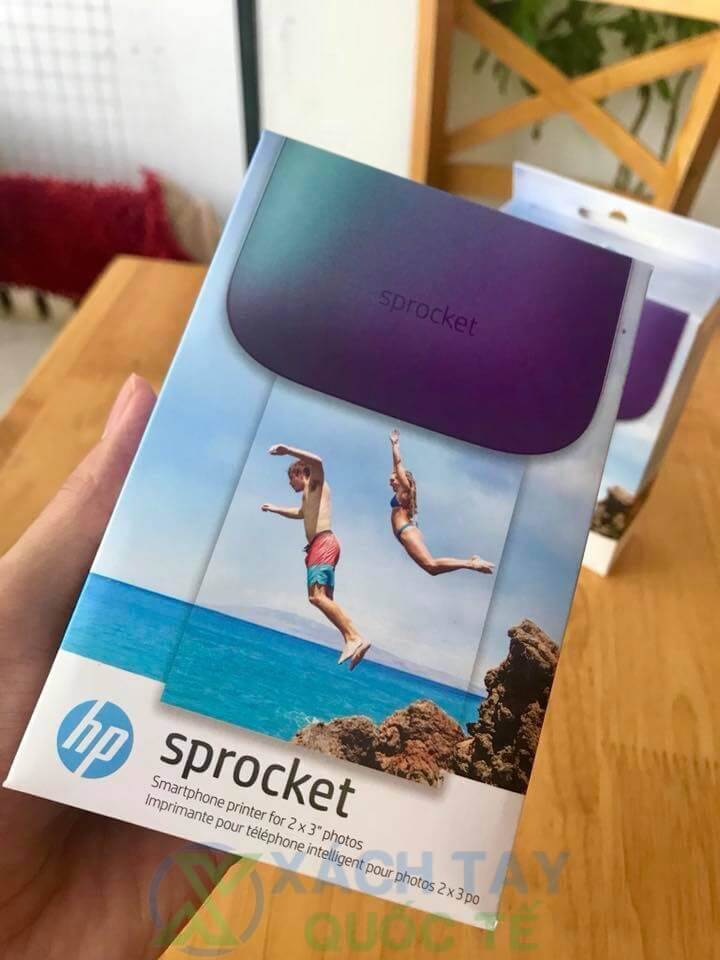 Máy in bỏ túi HP Sprocket 100 Photo Printer Review