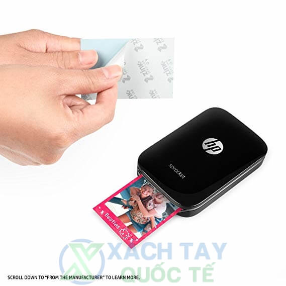 Máy in bỏ túi HP Sprocket 100 Photo Printer