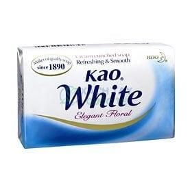 Xà phòng tắm Kao White Soap Nhật Bản Hương sữa