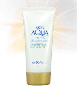Kem chống nắng Skin Aqua UV Super Moisture Essense Rohto