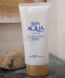 Kem chống nắng Rohto Skin Aqua UV Super Moisture Essense Xách tay Nhật