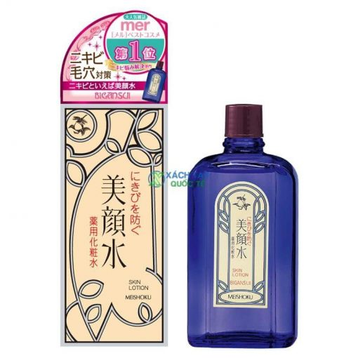 Lotion trị mụn Meishoku Bigansui Medicated Skin 90ml