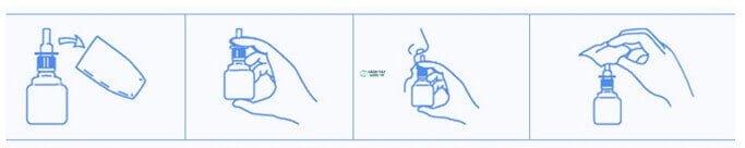 Cách sử dụng Thuốc xịt mũi Nazal Sato 30ml