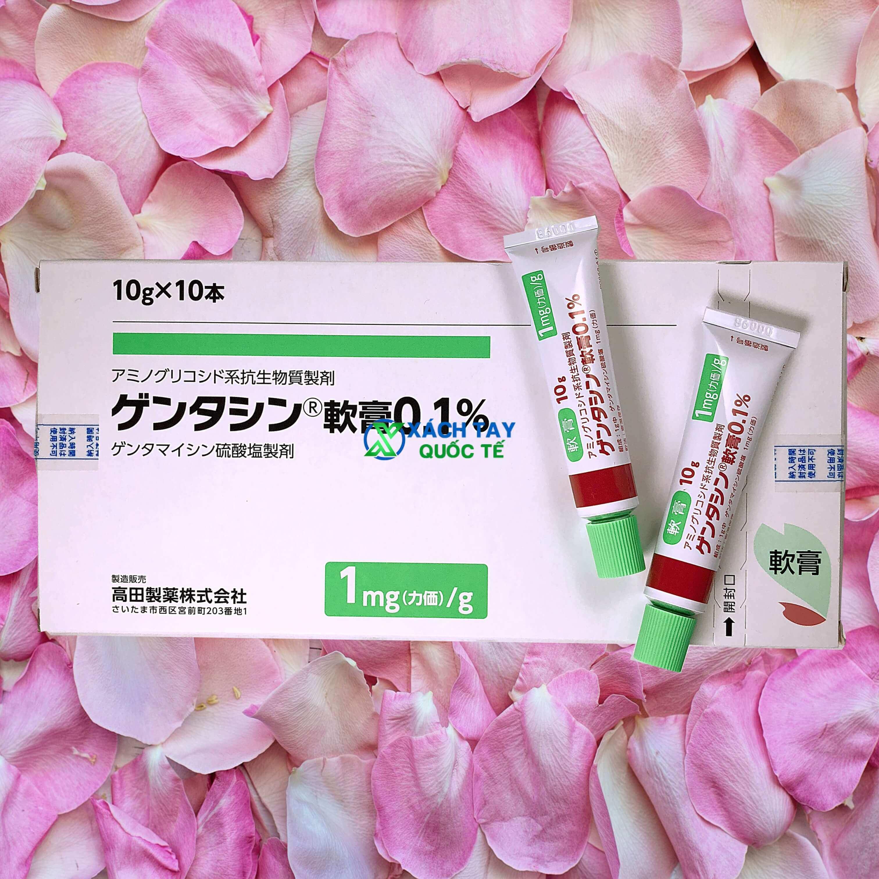 Kem trị sẹo Gentacin Takata Nhật Bản 0.1%