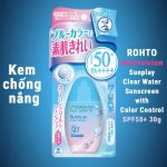 Rohto Sunplay Clear Water Sunscreen with Color Control