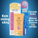 Shiseido Senka Q10 BG Miniral Water UV Essence