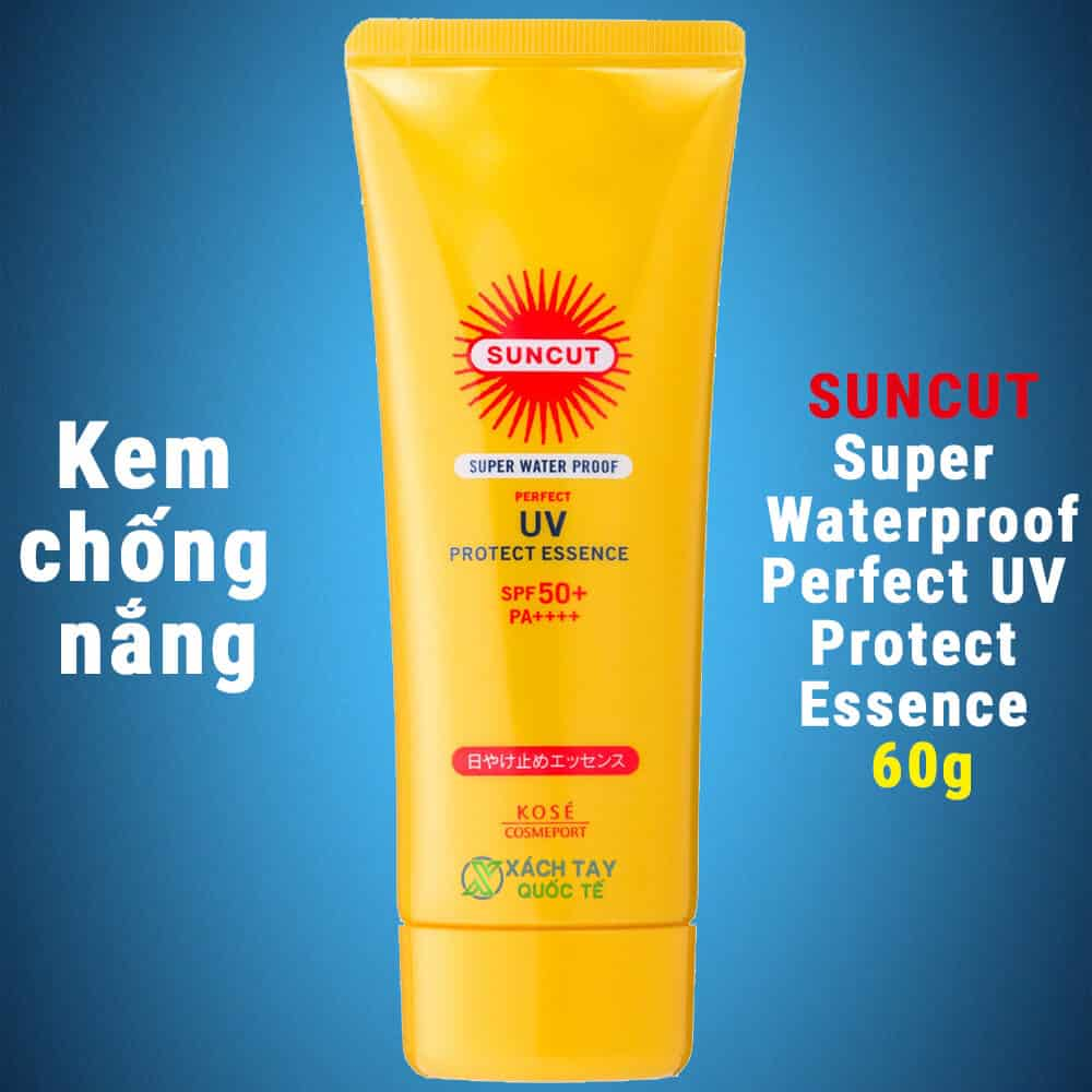 Kem chống nắng Suncut Super Water Proof Perfect UV Protect Essence